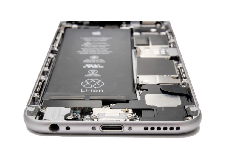 Батарея устройства