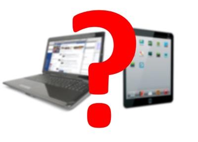 Планшет или ноутбук для студента