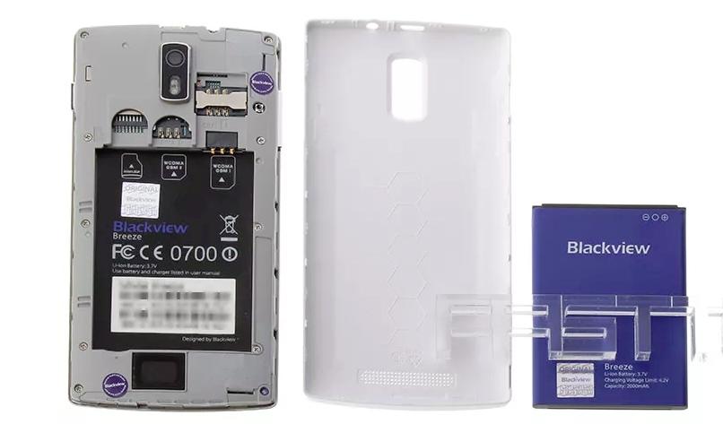Дисплей и батарея