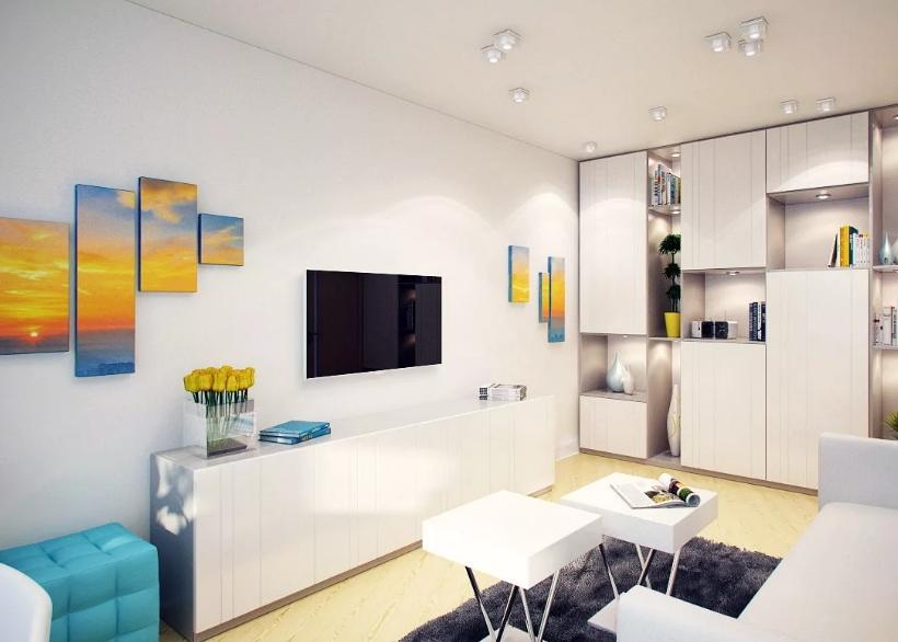 Выбор дизайна для квартиры-студии