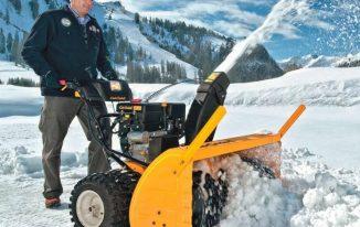 Какие снегоуборщики выбрать для загородного дома?!